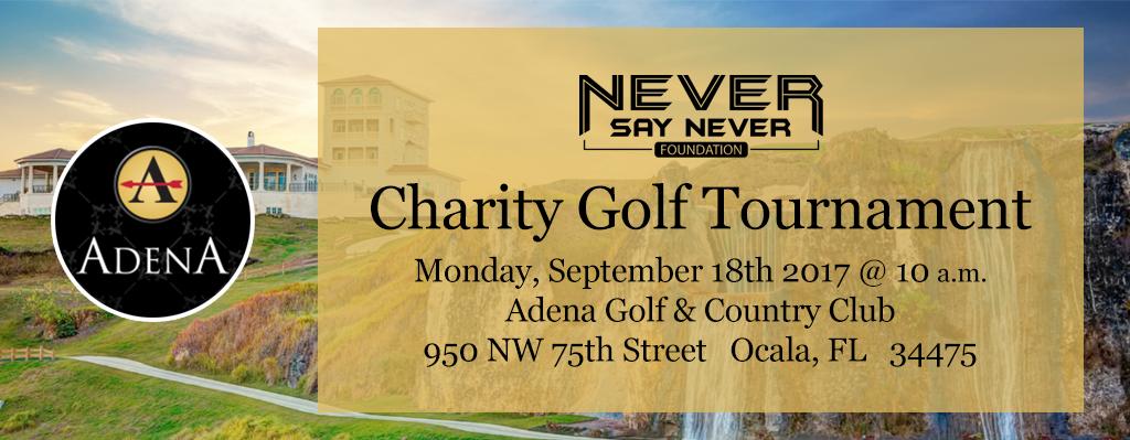 2017 Never Say Never Golf Tournament