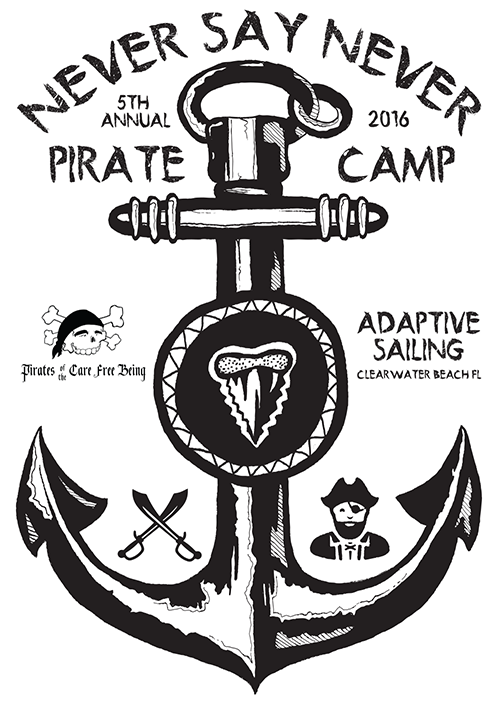Never Say Never Foundation Pirate Camp